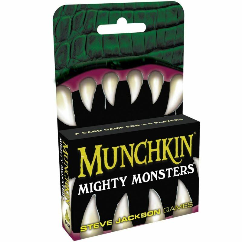 Munchkin Mighty Monsters Card Game
