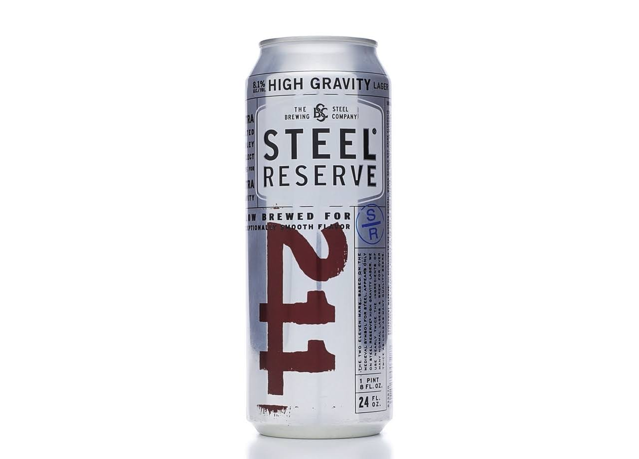 Steel Reserve 211 High Gravity Lager - 24oz
