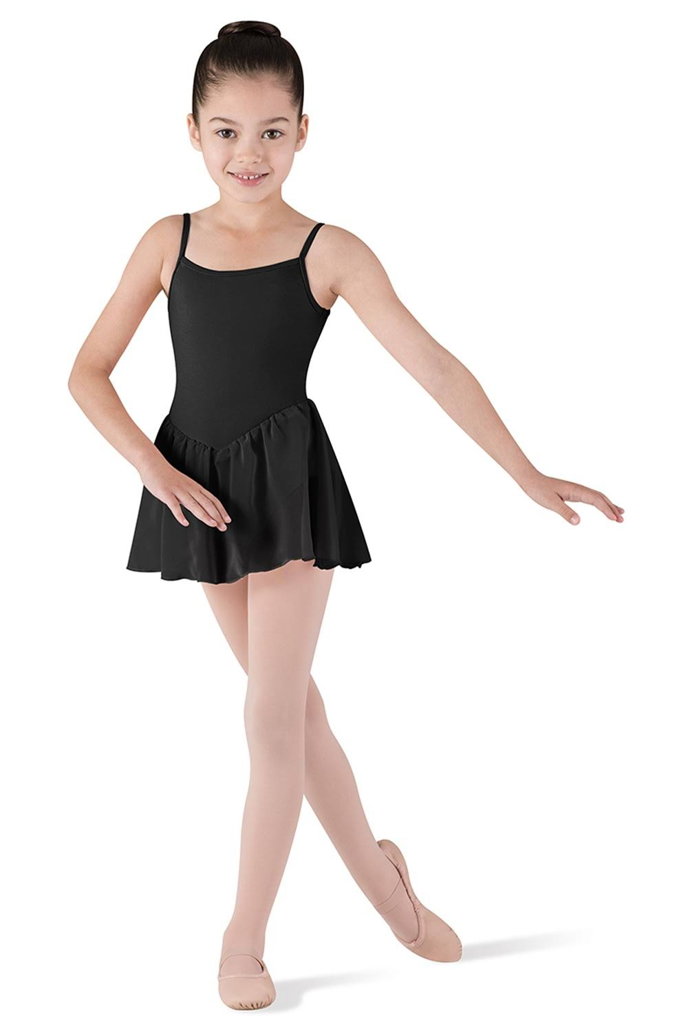 Bloch Camisole Leotard Chiffon Dress Girl's Size: 2-4