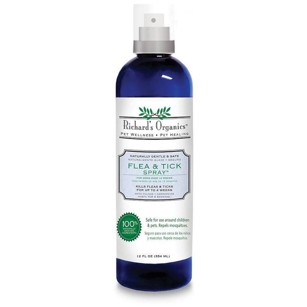 Richard's Organics Flea & Tick Spray