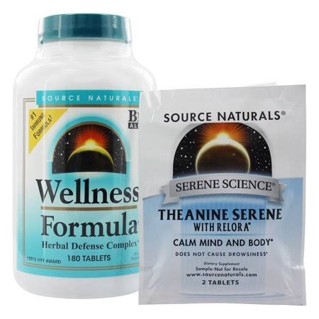Source Naturals Wellness Formula - 180 Tablets