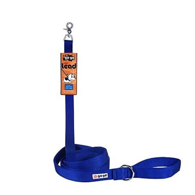 GoGo Pet Products Nylon Dog Leash - Blue