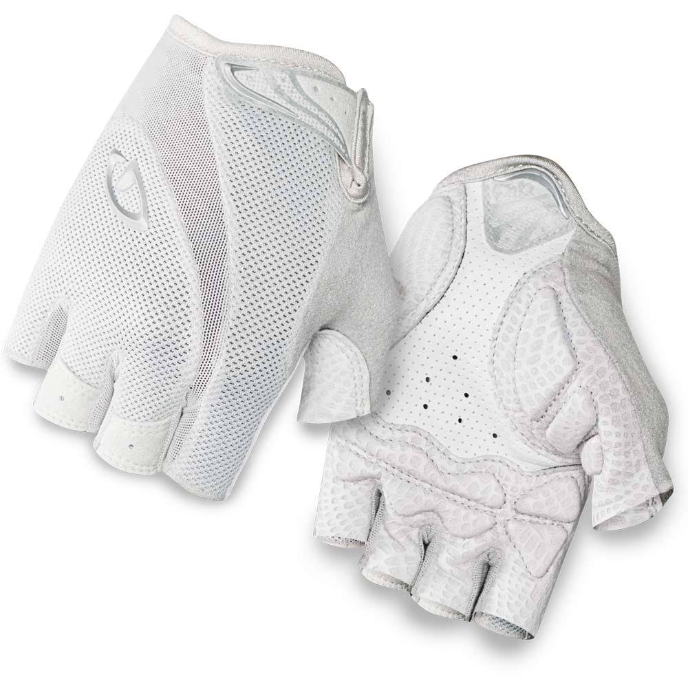Giro Monica Gloves - Women's White/Silver Medium