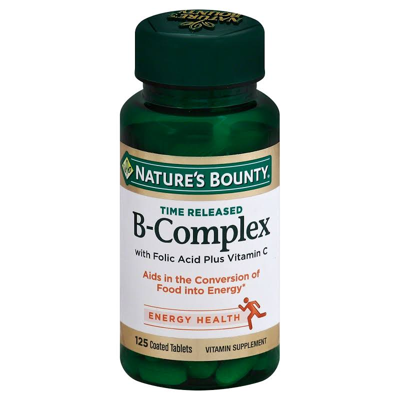 Nature's Bounty Time Released B Complex 125 Tablet(s)