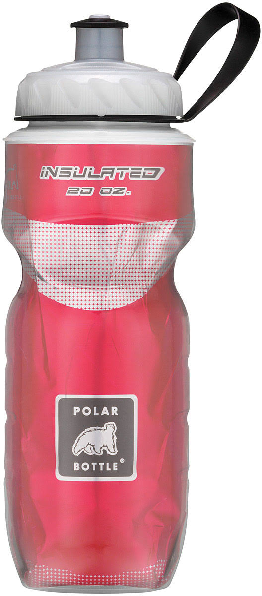 Polar Bottle Insulated Water Bottle - Red, 20oz