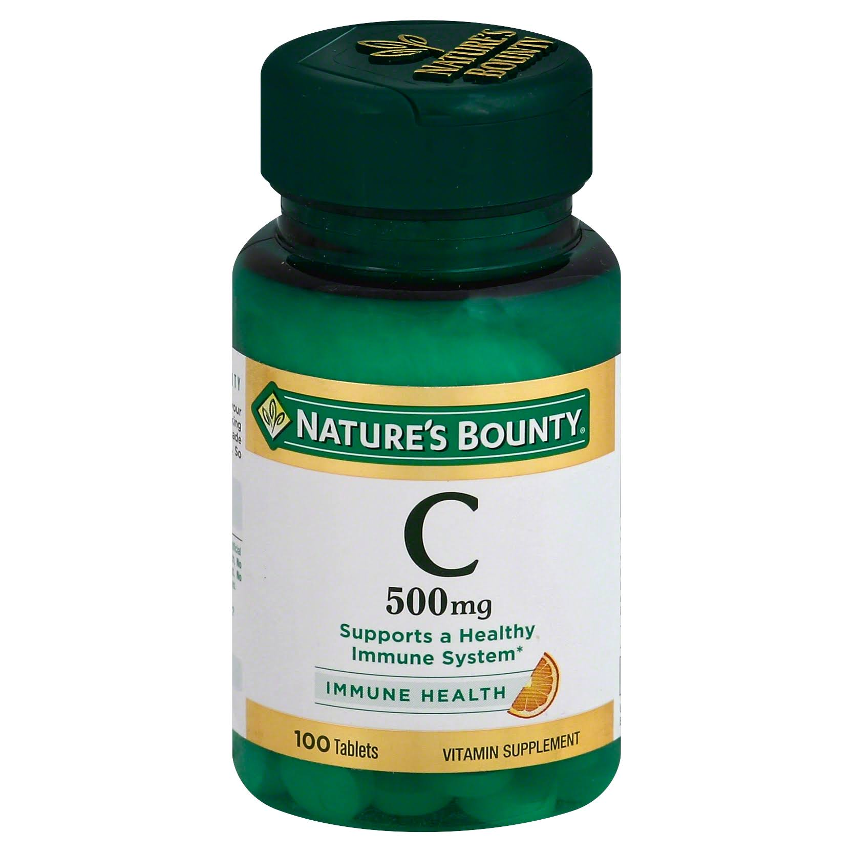 Nature's Bounty Vitamin C 500 - 100 Tablets