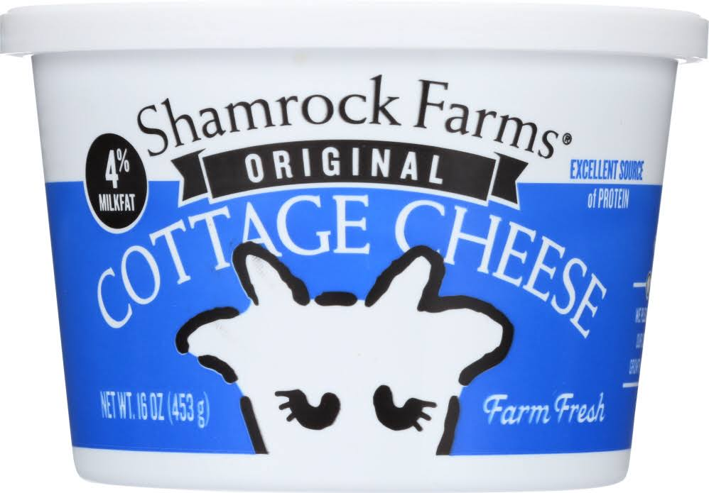 Shamrock Farms Cottage Cheese, Traditional - 16 oz