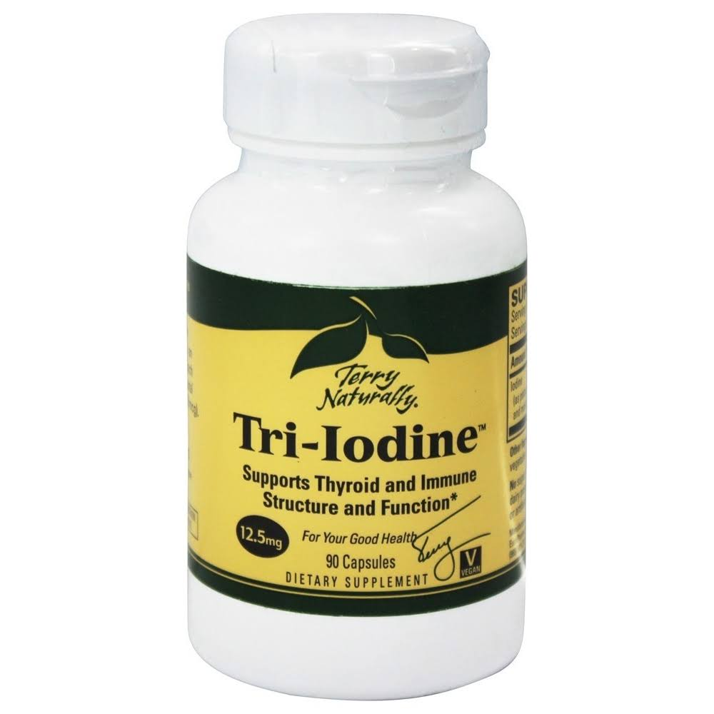 Terry Naturally Tri-Iodine Dietary Supplement - 90 Capsules