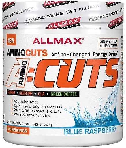 AllMax Nutrition AminoCuts A:Cuts, Blue Raspberry - 252 grams