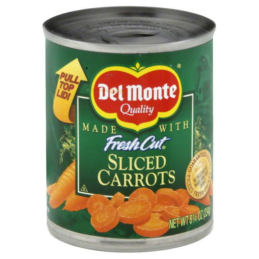 Del Monte Fresh Cut Sliced Carrots - 8.25oz