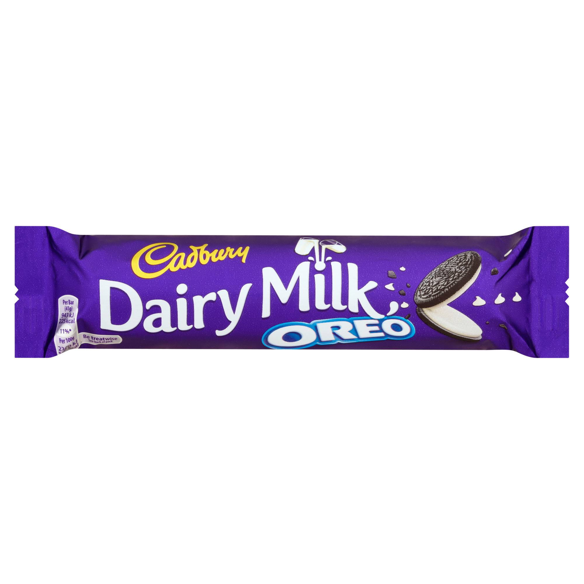 Cadbury Dairy Milk Chocolate Bar - Oreo, 41g