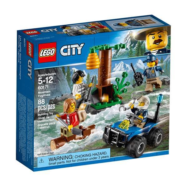 LEGO 60171 City Police Mountain Fugitives Building Kit - 88pcs