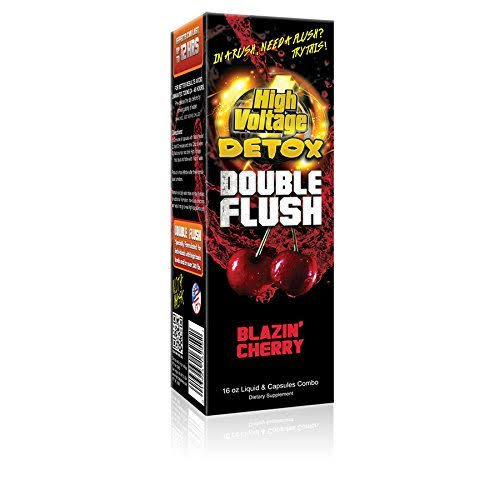 High Voltage Double Flush Blazin Cherry