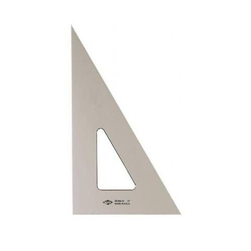"Alvin 6"" Smoke Tint Triangle 30/60"