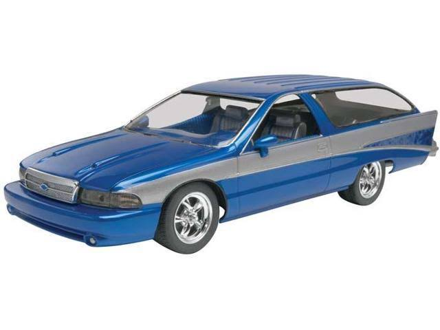 Revell Alternomad Caprice Plastic Car Model Kit - 1:25 Scale
