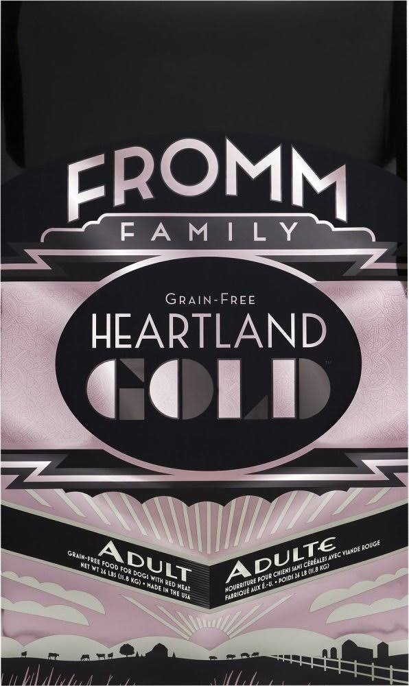 Fromm Prairie Gold Dog Food - Beef Pork & Lamb