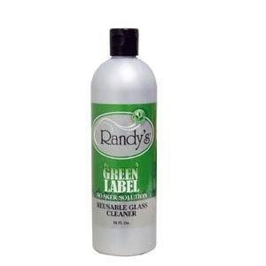 Randys Green Label Soaker Solution: Reusable Glass Cleaner 16 fl oz
