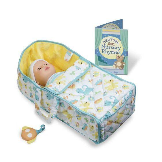Melissa & Doug - Mine to Love Bassinet Play Set