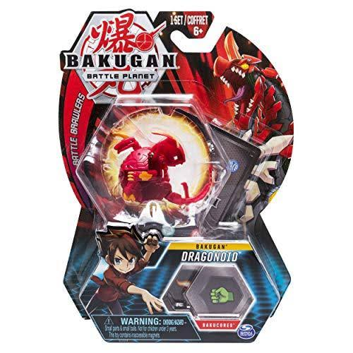 Bakugan Battle Planet Battle Brawlers Collectible Transforming Creature - Dragonoid, 2in