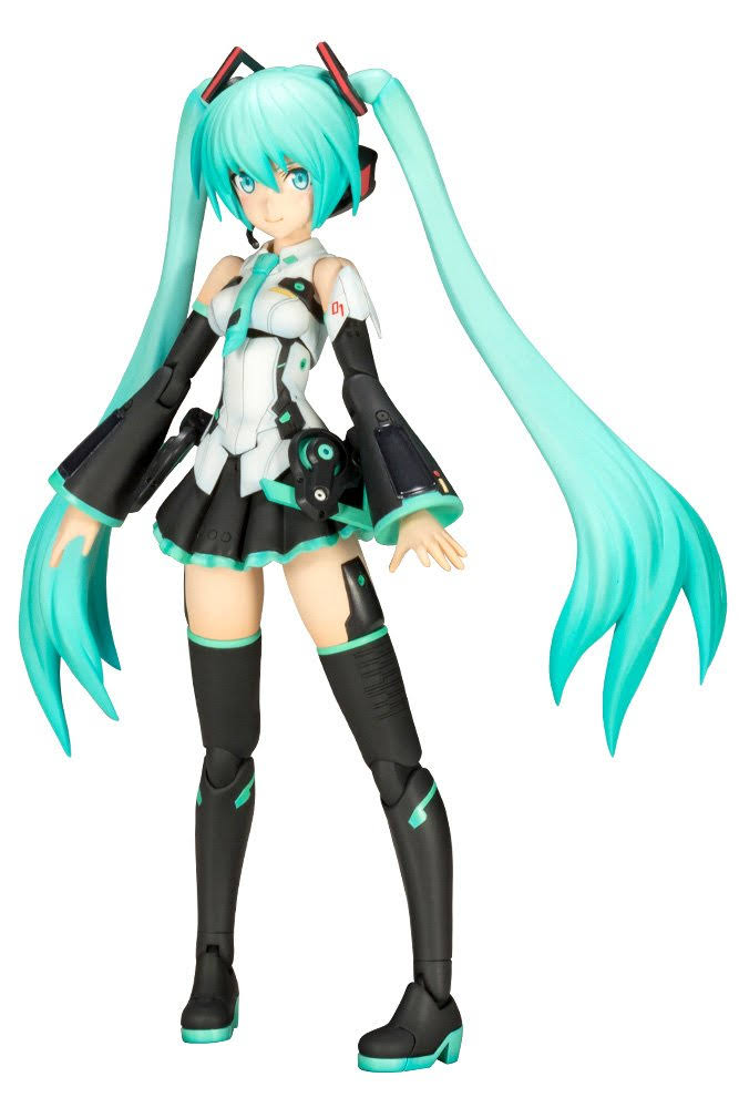 Kotobukiya Frame Music Girl Hatsune Miku Model Kit