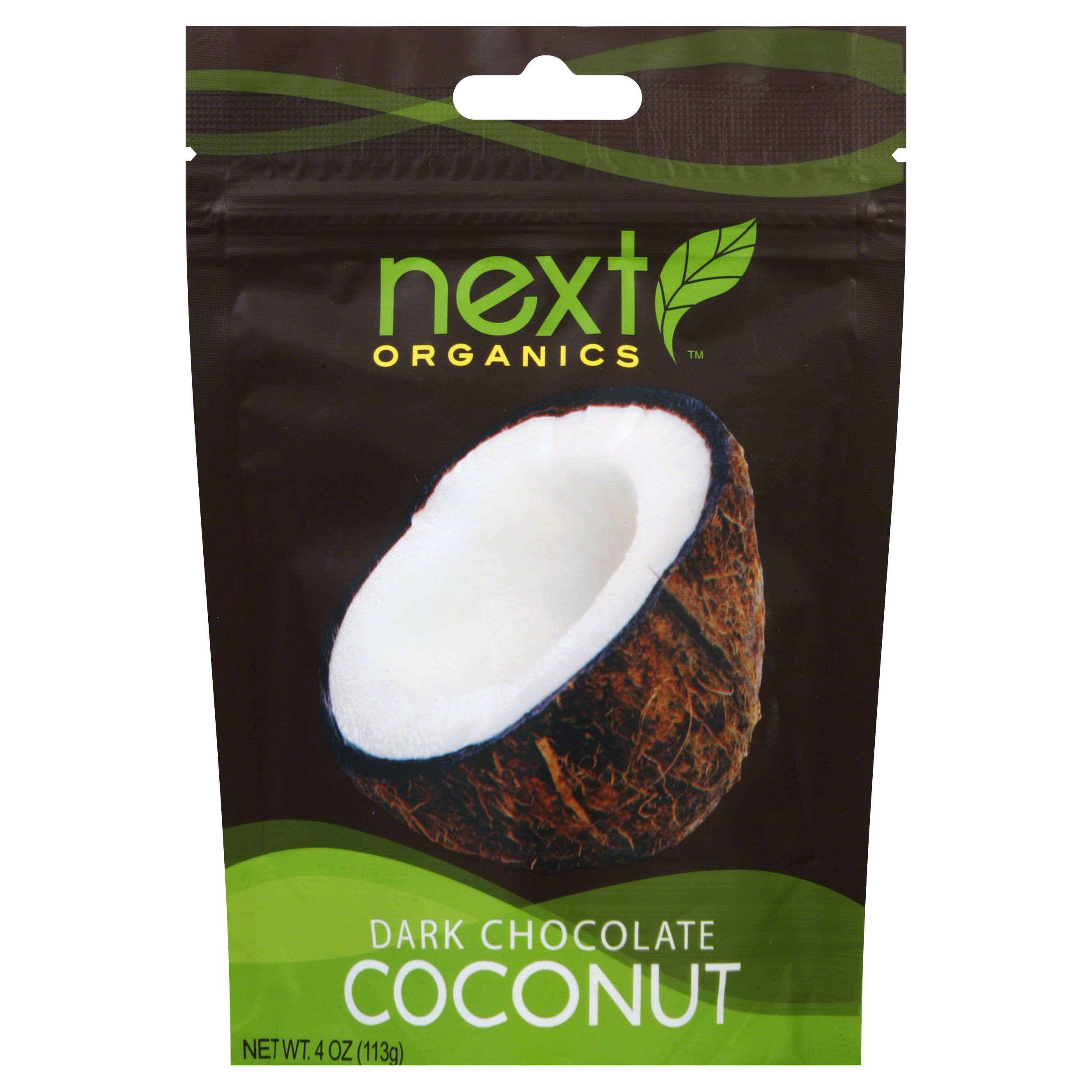 Next Coconut, Dark Chocolate - 4 oz
