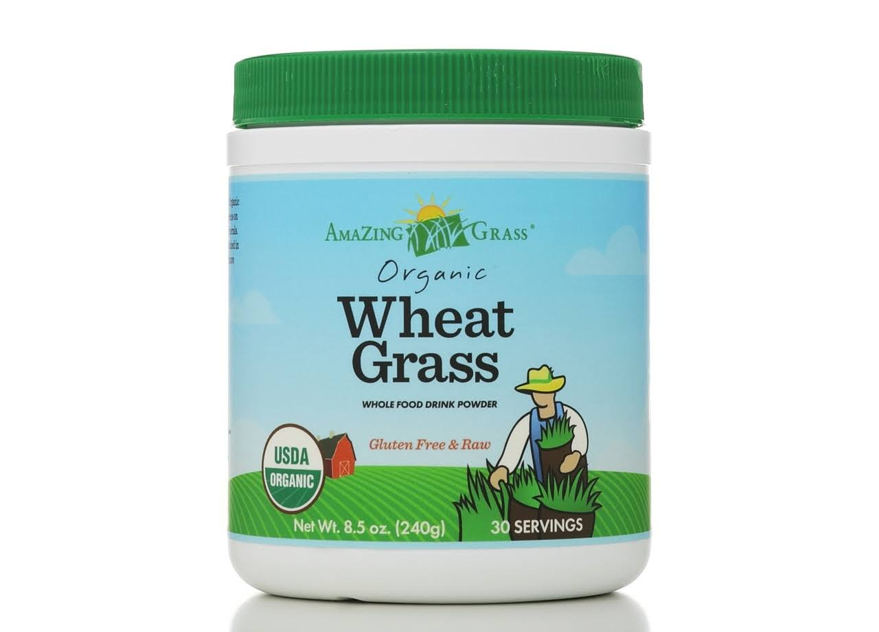 Amazing Grass Organic Wheat Grass Powder - 240g