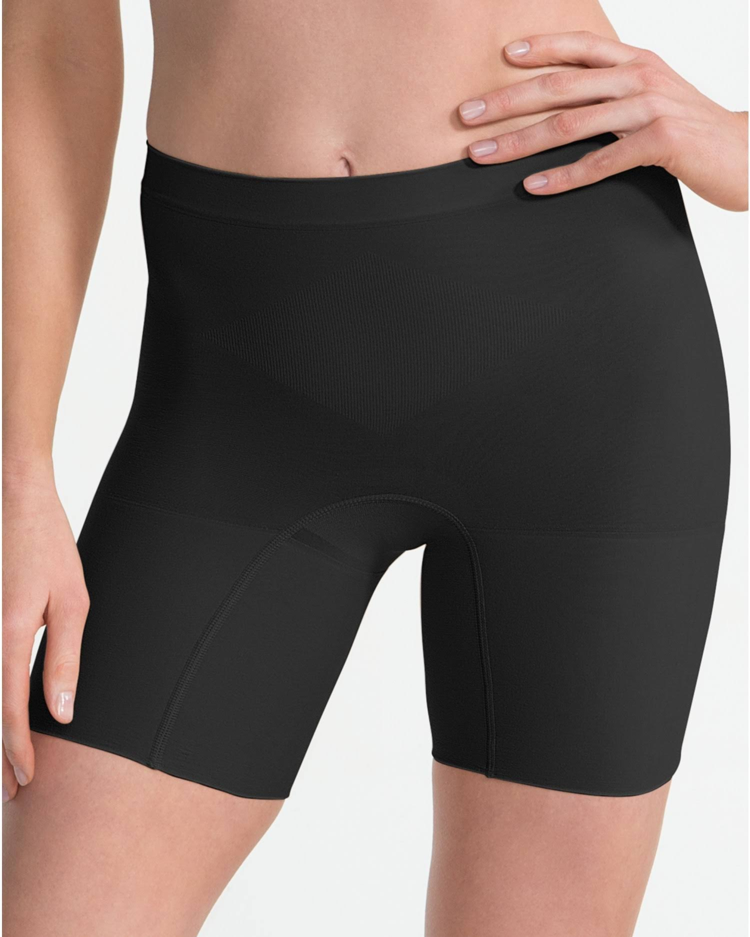 SPANX Power Tummy Control Shorts - Black, X-Large