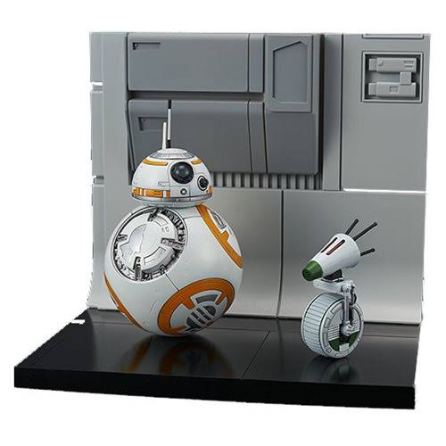 Star Wars The Rise of Skywalker BB 8 and D 0 Model Kit - 1/12 Scale