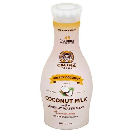 Califia Farms Coconut Milk & Coconut Water Blend - 48 fl oz