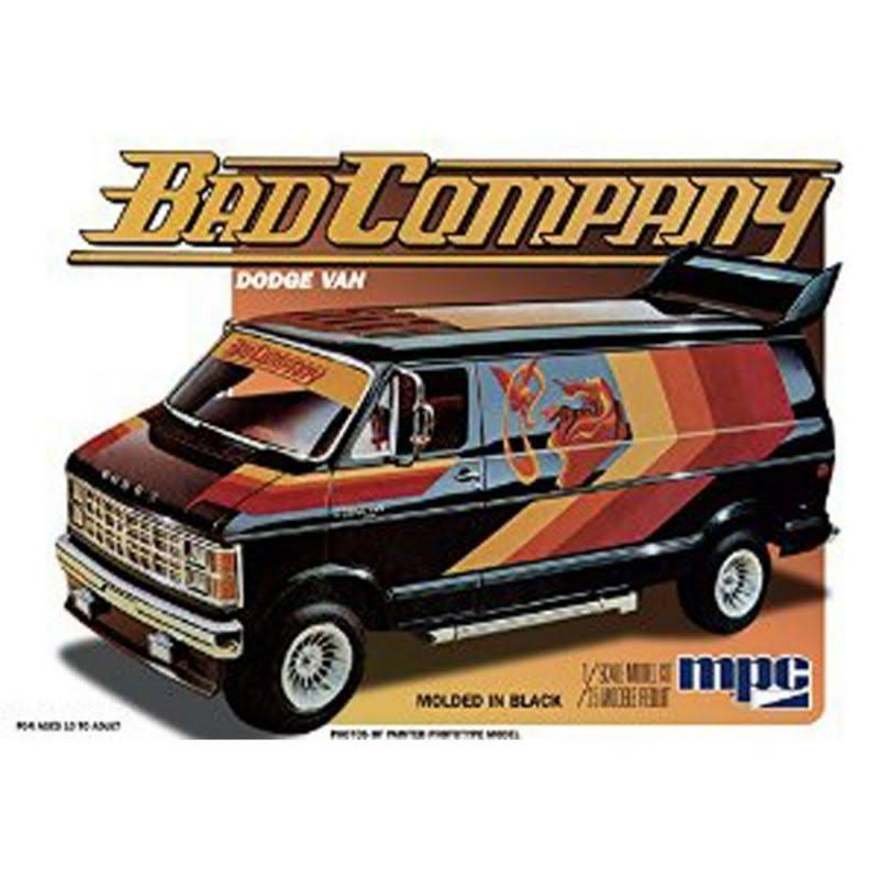 MPC 1/25 1982 Dodge Van, Bad Company