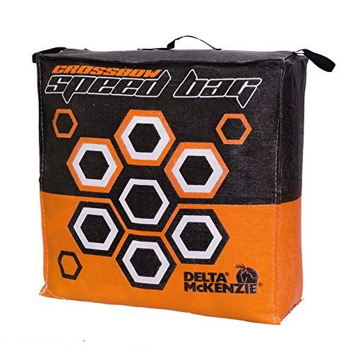 "Delta Mckenzie Crossbow Speed Bag Archery Target - Orange, 24"" x 24"" x 10"""