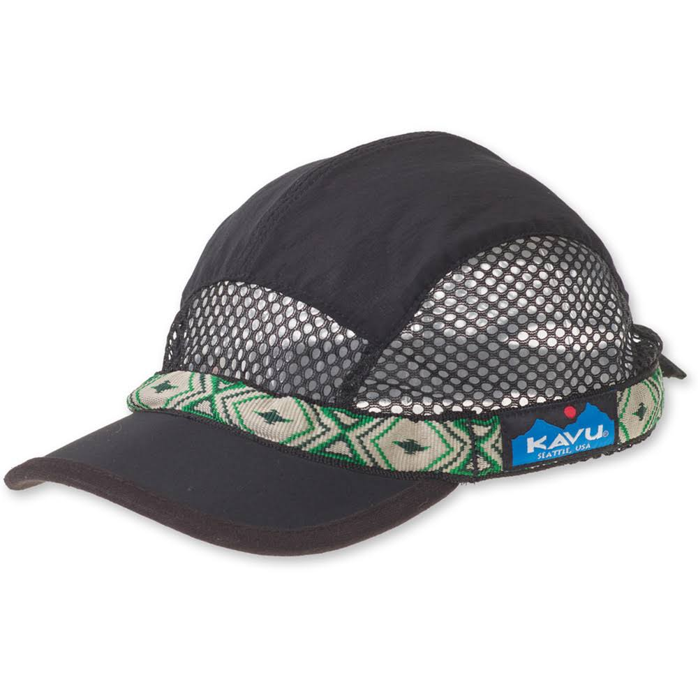 KAVU TrailRunner Hat Black M