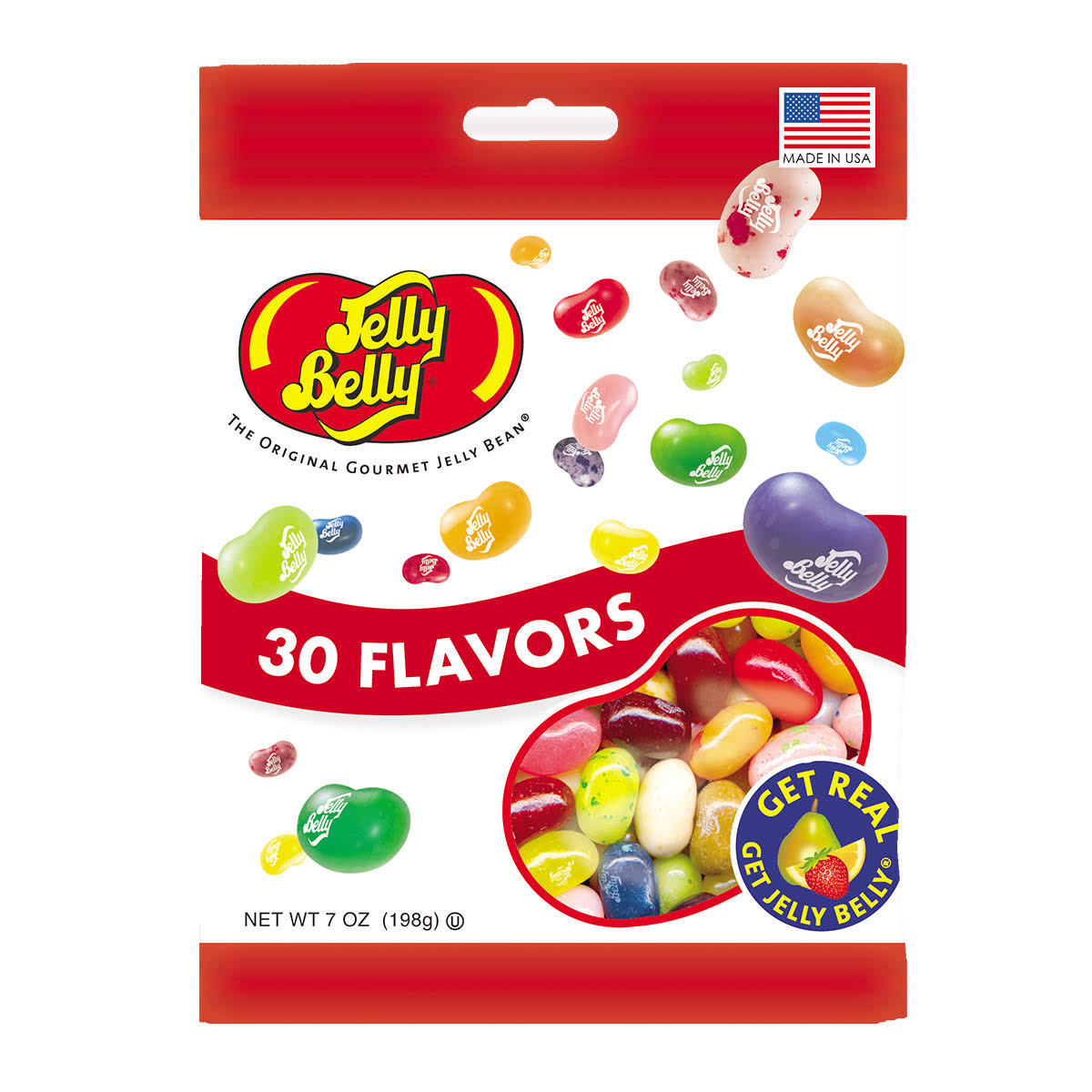 Jelly Belly Gourmet Jelly Beans - 30 Flavors, 7oz