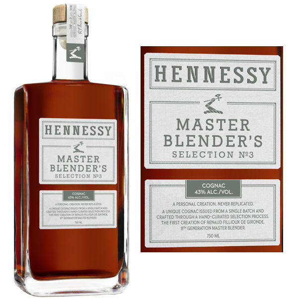 Hennessy Master Blender's Selection No. 3 Cognac 750ml