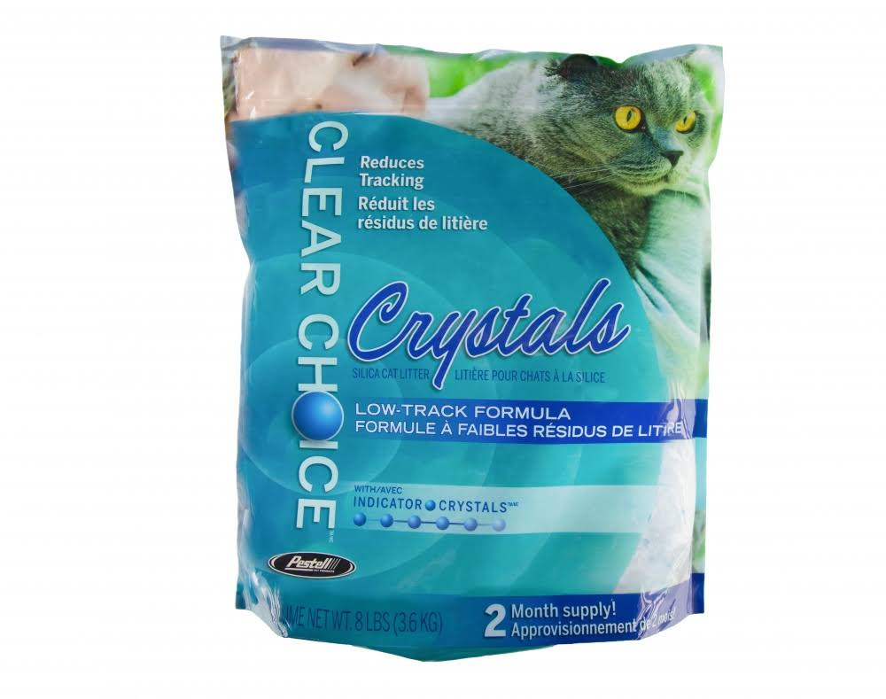 Clear Choice Silica Crystals Cat Litter Pail - 12lb