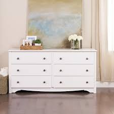 Dressers At Big Lots by Amazon Com White Monterey 6 Drawer Dresser Kitchen U0026 Dining