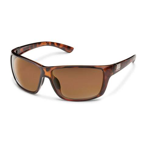 Suncloud Councilman Polarized Sunglasses - Tortoise Frame, Brown Lens