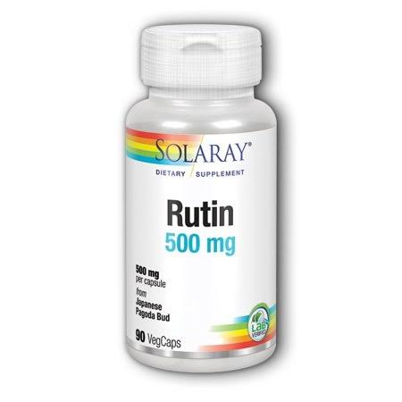 Solaray Rutin 500 mg - 90 vegcaps