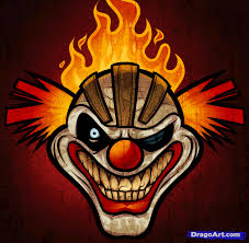 Evil Clown Pumpkin Stencils by Halloween Special Twisted Metal Needles Kane U0027s Mask By Paper