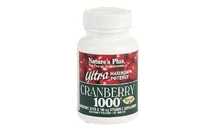 Nature's Plus Ultra Cranberry 1000 - 1,000mg, 60 Tablets
