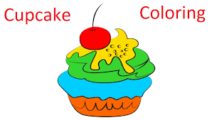 Cake Decorating Books Free by Cupcake Coloring Book By Happy Baby Games Free Preschool