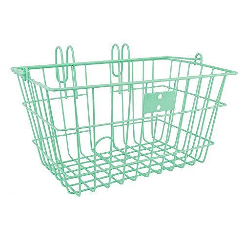 SunLite Wire Lift-Off Basket - Seafoam Green, Front
