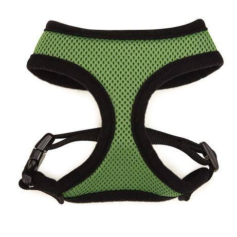 Casual Canine Mesh Dog Harness Green / X-Small