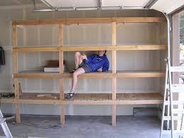diy garage shelf plans home decorations