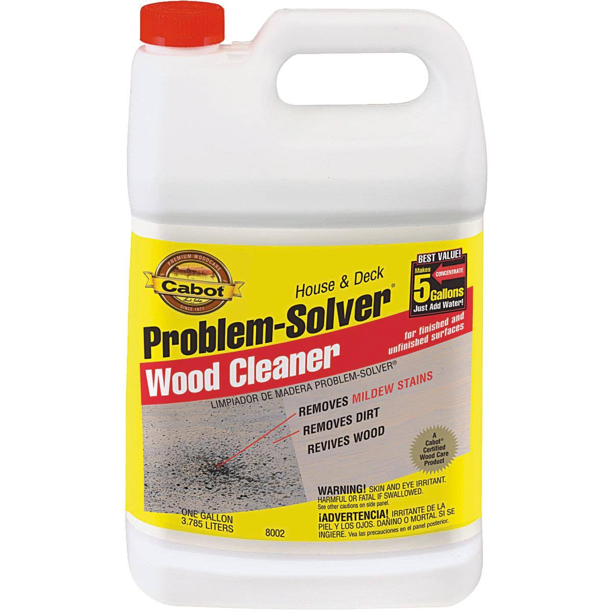 Cabot Wood Cleaner - 1gal