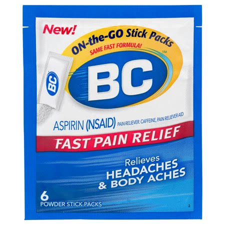 BC Original Formula Pain Relief Powders - 6ct