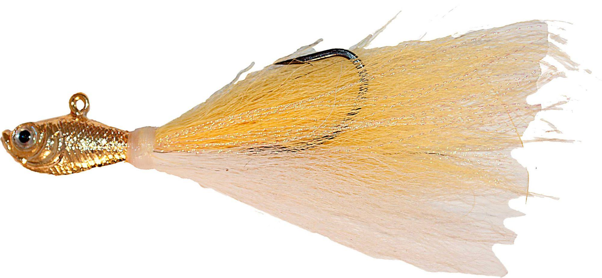 Spro Prime Bucktail Saltwater Jigs Chrome Gold