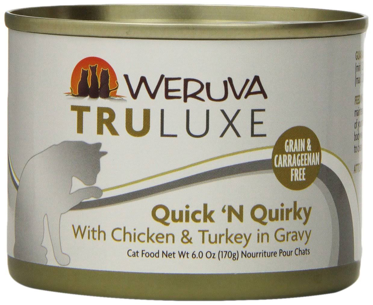 Weruva Truluxe Quick 'N Quirky Single Canned Cat Food - Chicken & Turkey
