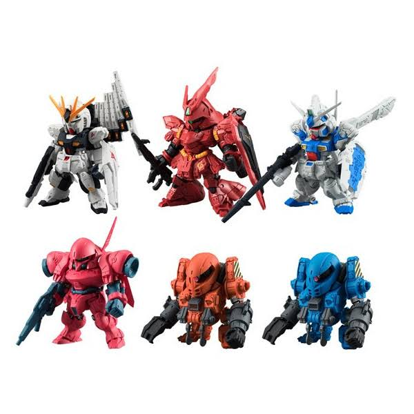 Bandai FW Gundam Converge Number 1Trading Figure Toy - Box of 10