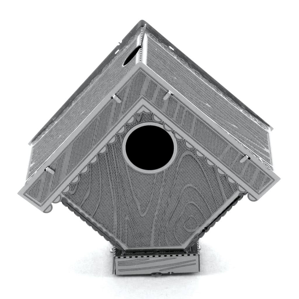 Fascinations Metal Earth Mms039 Birdhouse 3D Metal Model Kit